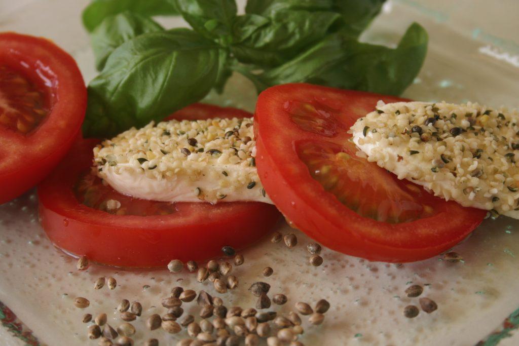 Tomate Hanfmozarella